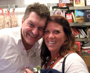 Dario Cecchini and Alida Solomon