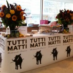 Tutti Matti's table at Eat to the Beat